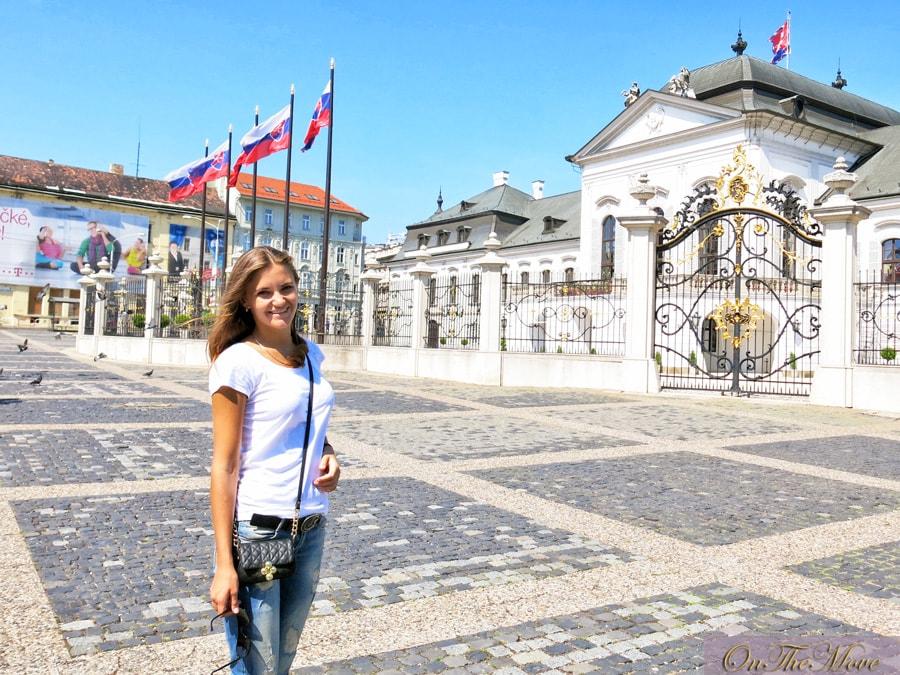 Grassalkovich_Palace, резиденция Президента Словакии