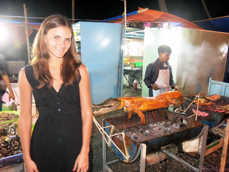 crocodile, vietnam
