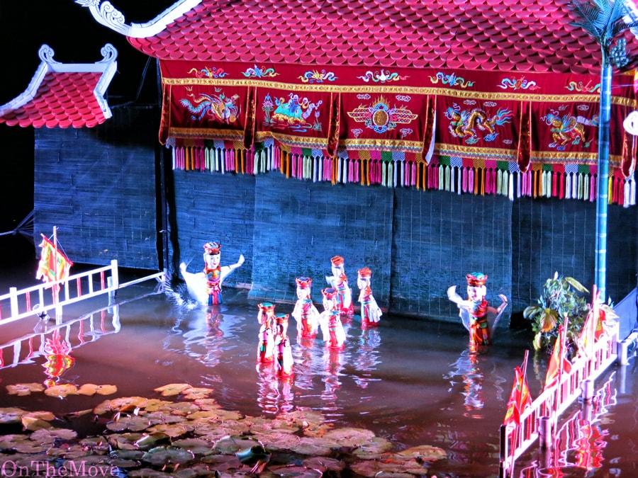 театр на воде, муйне, вьетнам